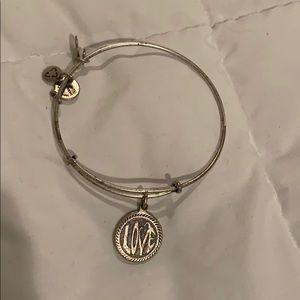 "Alex and Ani ""LOVE"" bracelet"